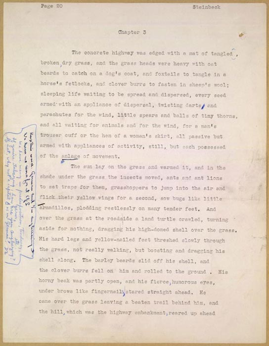 grapes of wrath essay steinbecks powerful style In the grapes of wrath, steinbeck greatly essays related to themes of strength and sacrifice in the grapes of wrath and here it demonstrates the power and.