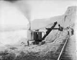 Ruby Canyon W. of Utah line steam shovel