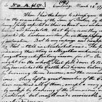 Letter from George Washington to Continental Congress, March 24, 1776. ( This is the letter of March 24, 1776, from Washington to the Continental Congress)