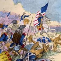 Washington Midway Between the Two Armies at Princeton