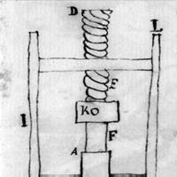 Thomas Jefferson's drawing of a macaroni machine and instructions for making pasta, ca. 1787 (Thomas Jefferson Papers)