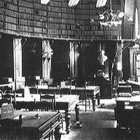 The Law Library's First Quarters in the Capitol.