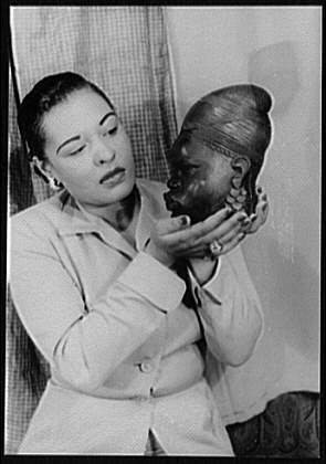 [Portrait of Billie Holiday].