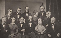 A Group of Philadelphia Abolitionists with Lucretia Mott