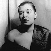 "Lovely Billie Holiday in 1949 (""Portrait of Billie Holiday."")"