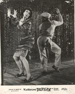 Katherine Dunham in a c.1950s photograph of Barrelhouse [photograph]