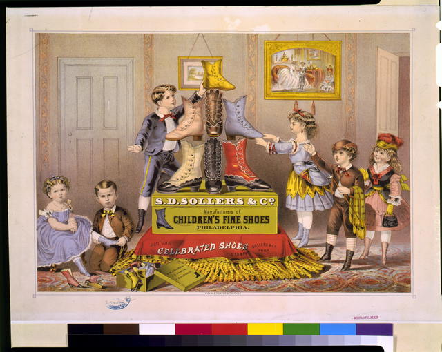 S.D. Sollers & Co. manufacturers of children's fine shoes, Philadelphia / E.C.