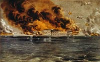 Bombardment of Fort Sumter, Charleston Harbor, April 12 and 13, 1861