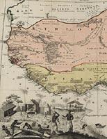 Guinea propia, nec non Nigritiae vel Terrae Nigororum maxima pars: geographis hodiemis dicta utraque Aethiopia inferior, & hujus quidem pars australis