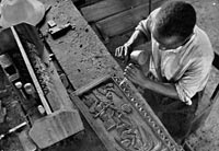 The West African has won considerable repute for his skill as a craftsman. . . .